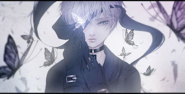 Обои YoRHa №9 тип S из игры NieR: Automata, by kuroe