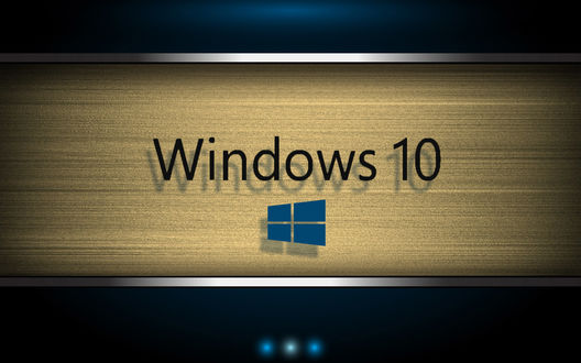 Обои Логотип ОС Windows 10