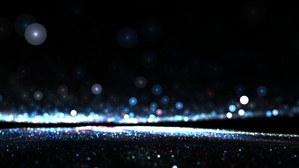 Обои Блестящие блики в темноте, by CarlosTown