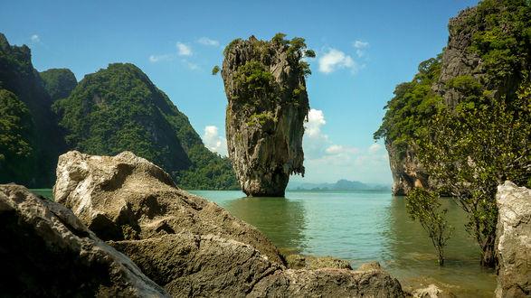 Обои Остров KoTapu, Thailand / в Таиланде, фотограф Scott Baldock