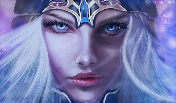 Обои Ashe / Эш из игры League of Legends / Лига Легенд, by WikiMia