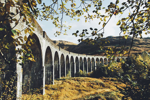 Обои Виадук - сооружение мостового типа, фотограф Daniel Casson