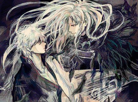 Обои Гинтоки Саката / Gintoki Sakata из аниме Гинтама / Gintama