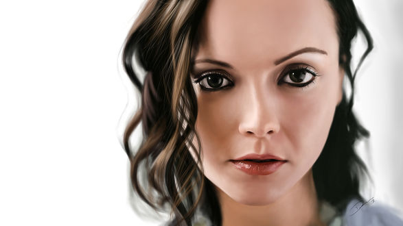 Обои Американская актриса Christina Ricci / Кристина Риччи, by Packwood
