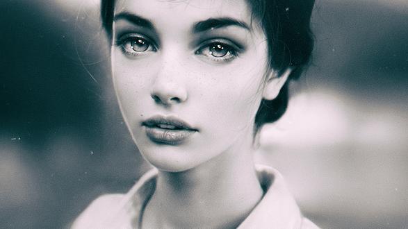 Обои Портрет девушки, by Irakli Nadar