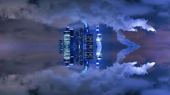 Обои Небоскребы столицы, Moscow / Москва, фотограф Roman Alyabev