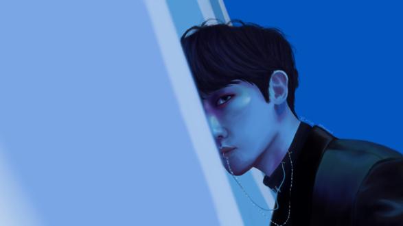 Обои Бэкхен / Baekhyun / Бен Пэк Хен / Byun Baek Hyun-главный вокалист группы EXO, by galaxyseoul