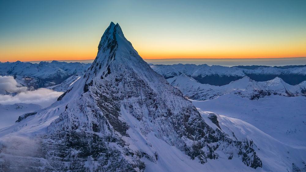 Обои для рабочего стола Гора Aspiring, New Zealand / Аспиринг, Новая Зеландия, фотограф Trey Ratcliff