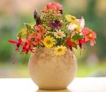 Обои Букет цветов в вазе, by Paula W