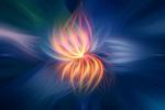 Обои Абстрактный фон, напоминающий огненный цветок, by S0n0ra