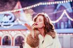 Обои Модель Анна Завьялова на Красной площади, фотограф Дмитрий Левикин