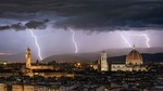 Обои Гроза над Florence / Флоренцией