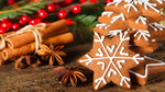 Обои Рождественское печенье с корицей