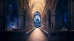 Обои Саутваркский собор / Southwark Cathedral в Лондоне / London из игры Эхо тьмы / Echo of Darkness