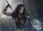 Обои Diana / Диана из фильма Wonder Woman / Чудо-Женщина, by Aliena85