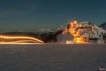 Обои Зима в лыжном районе Monte Lussari, Italy / Монте Луссари, Италия, фотограф Stefano Sudaro