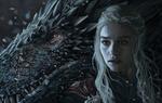 Обои Daenerys Targaryen / Дейнерис Таргариен с драконом из сериала Game Of Trones / Игра Престолов, by EerieStir