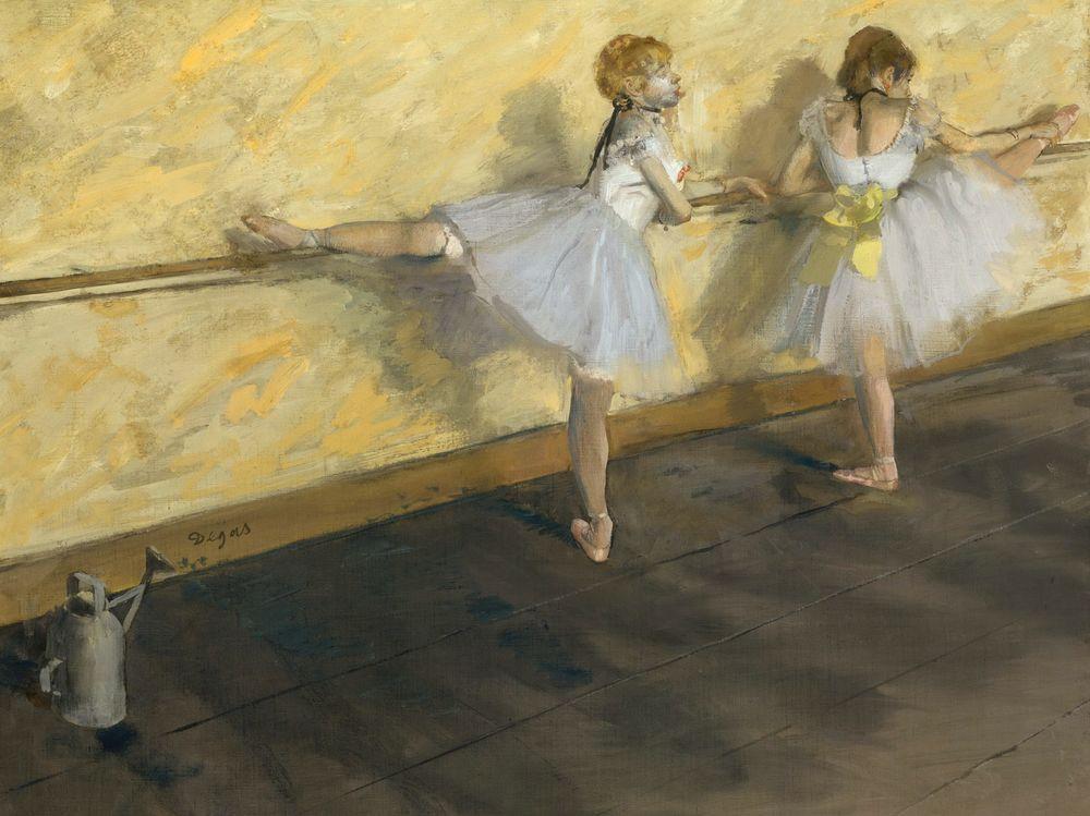Картина дега танцовщицы в баре