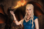 Обои Daenerys Targaryen / Дейнерис Таргариен из сериала Game Of Trones / Игра Престолов, by lara-cr