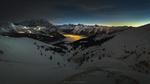 Обои Закат в горной местности, фотограф Maxim K