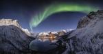 Обои Северное сияние на небе, фотограф Nicholas Roemmelt