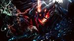 Обои Битва героев игры Diablo III с монстрами