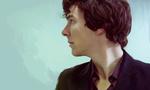 Обои Benedict Cumberbatch / Бенедикт Камбербэтч в роли Шерлока Холмса / Sherlock Holmes из телесериала Sherlock / Шерлок, by Nadia-Ch