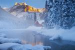 Обои Пруд в Yoho National Park, British Columbia / национальном парке Йохо, Британская Колумбия, фотограф Doug Shearer