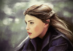 Обои Американская актриса Liv Tyler / Лив Тайлер в роли Arwen / Арвен из фильма The Lord of the Rings: The Fellowship of the Ring / Властелин колец: Братство кольца, by Rheatheranger