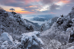 Обои Замороженная долина в горах Daedunsan / Даэдунсан, фотограф jae youn Ryu