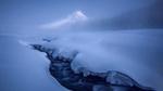 Обои Ручей у подножья вулкана Худ, штат Орегон, США / Hood, Oregon, USA, фотограф Alex Noriega