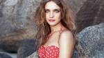 Обои Модель Natalya Vodyanova / Наталья Водянова на фоне боке