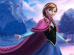 Обои Anna / Анна из мультфильма Frozen / Холодное сердце, by Dinhosaur