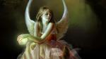 Обои Крылатая королева эльфов разговаривает с маленькой феей