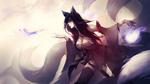 Обои Ahri / Ари из игры League of Legends / Лига Легенд, by EwaLabak