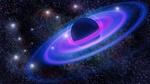 Обои Неоновое свечение вокруг планеты