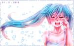 Обои Плачущая Vocaloid Miku Hatsune / Вокалоид Мику Хацунэ, by PiyoriYoake