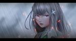 Обои Emilia / Эмилия из аниме Re:Zero kara Hajimeru Isekai Seikatsu / Re: Жизнь в альтернативном мире с нуля, by Kyokazu