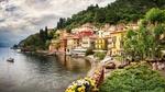 Обои Поселок Варенна / Varenna возле озера Комо / Como, Италия / Italy