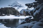 Обои Зима в Switzerland / Швейцарии, фотограф Johannes Hulsch