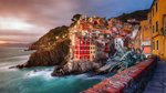 Обои Прибрежный город Риомаджоре / Riomaggiore в Италии / Italy, фотограф Pasquale Di Pilato
