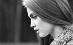 Обои Девушка Татьяна Ф. с грустным взглядом в профиль, автор Dmitriy Masalimov