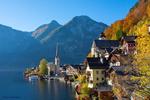 Обои Деревушка Hallstat / Халльштатт в Австрии, у озера, фотограф Marat Magomedov