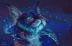 Обои Мистический кот, by AlaxendrA