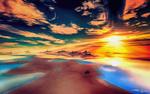 Обои Красочный закат солнца, by LightDrop