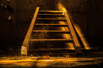 Обои Лестница и пыль в дневном свете, фотограф imhof patrick