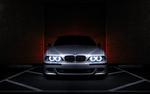 Обои BMW, 5 серия, 540i / БМВ X5 в анфас