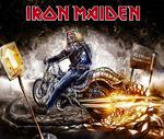 Обои Обои группы Iron Maiden / Эдди на мотоцикле