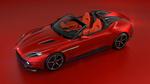 Обои Красный Aston Martin / Астон Мартин на красном фоне