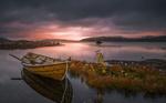 Обои Лодка на воде, фотограф Jоrn Allan Pedersen